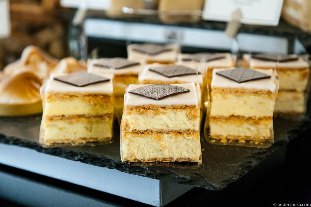 The Napoleon mille feuille