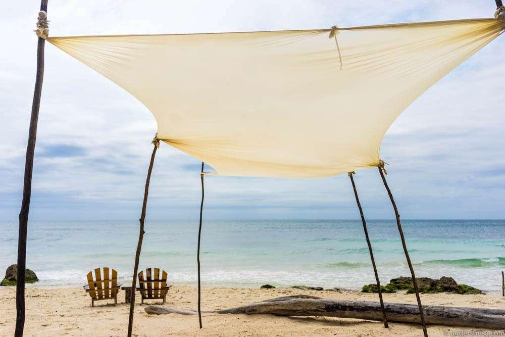 Beach and quiet