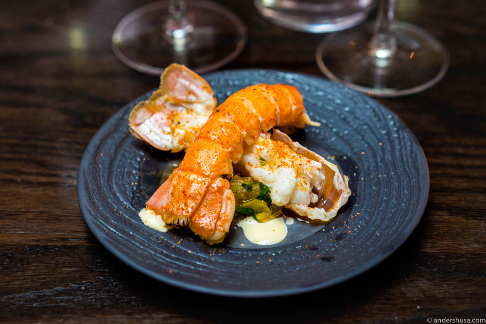 "Langoustine ""Al Ajillo"" – in garlic"