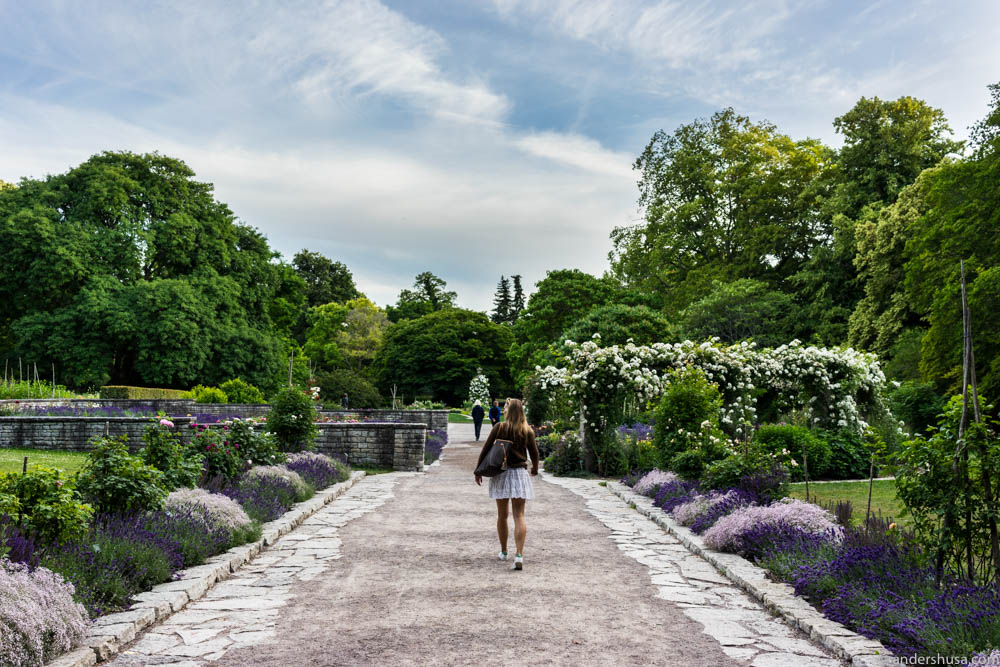 The Botanical Garden of Visby