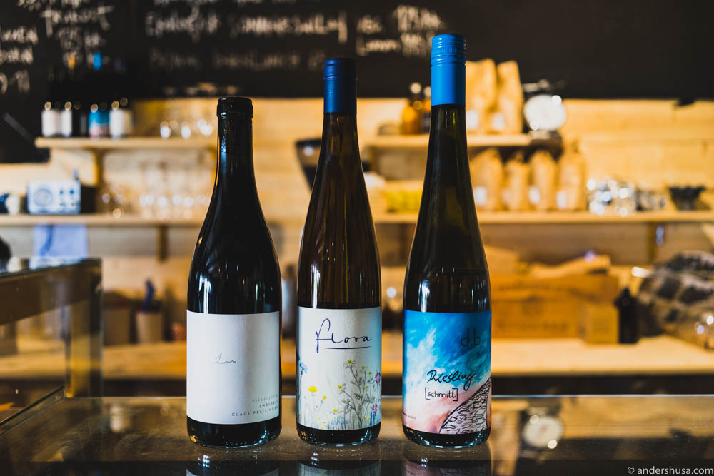 Natural wines at Prima Gård