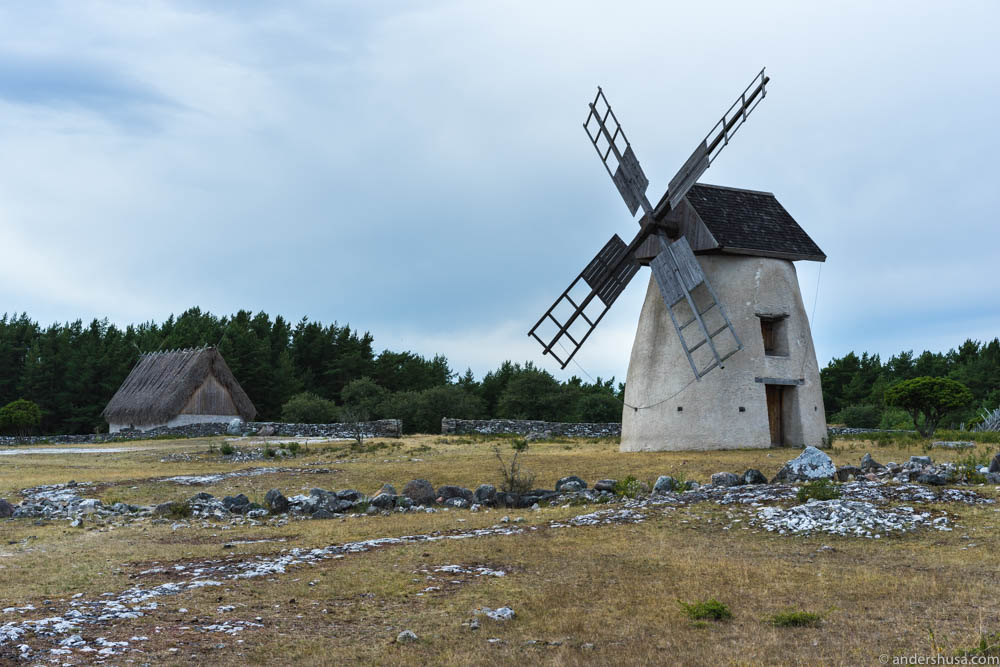 The wind mills of Fårö