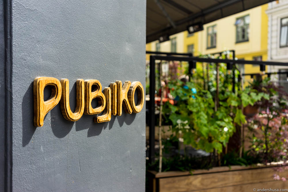 Publiko now has outdoor seating