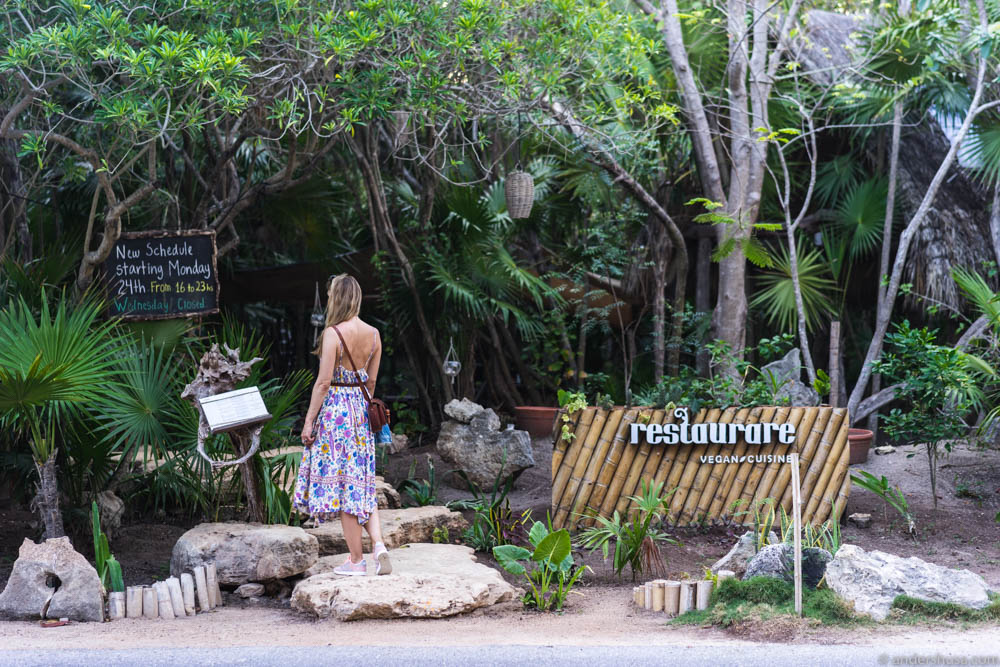 Restaurare Vegan Cuisine in Tulum