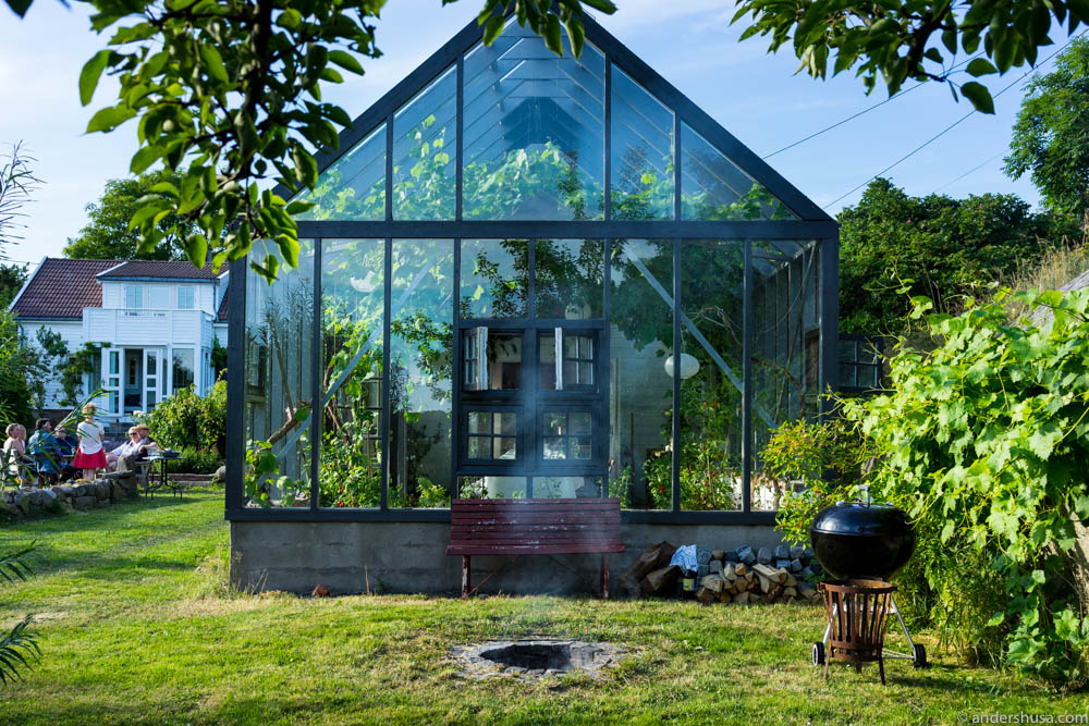 The greenhouse at Ødekjære