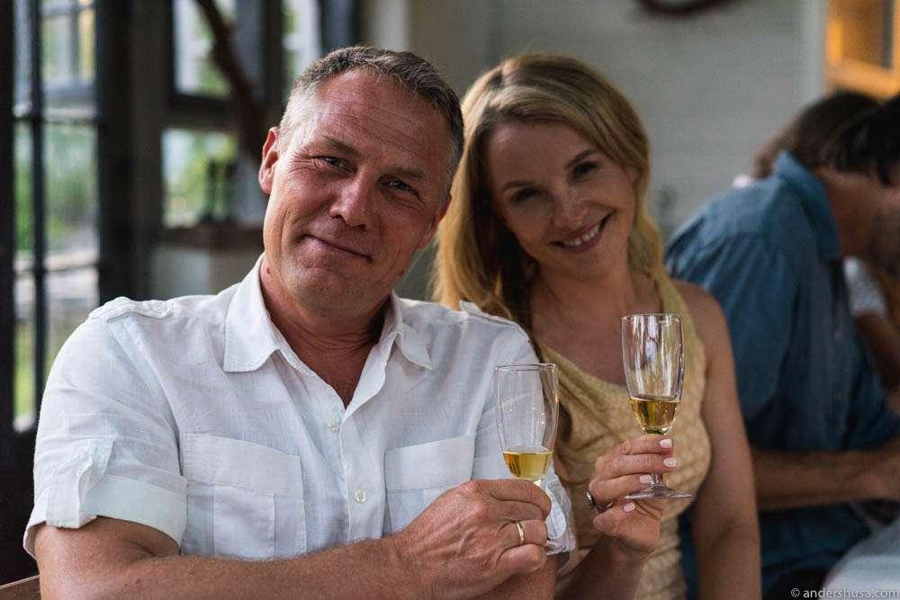 Øystein Gilje and his lovely wife Karianne Bjellås Gilje