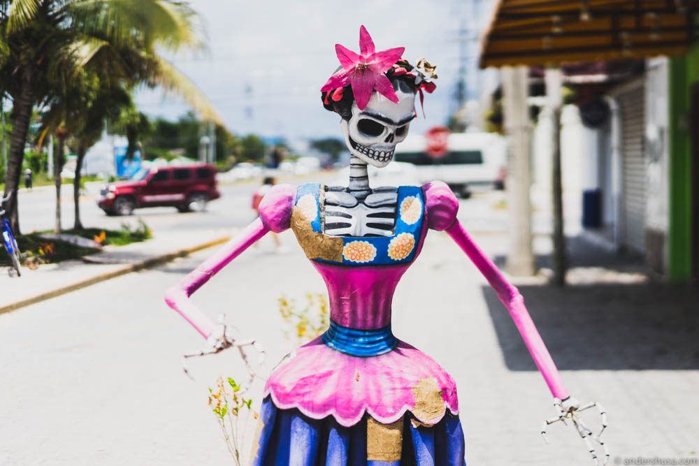 There are a lot of fun stuff to see on the streets of Tulum