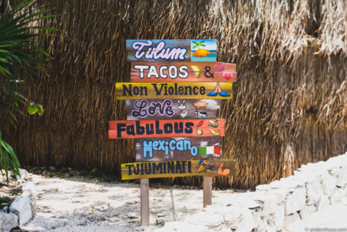 Foodie Map of Tulum
