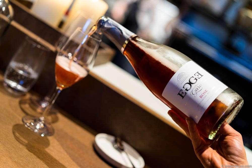 Rosé cider from Egge gård