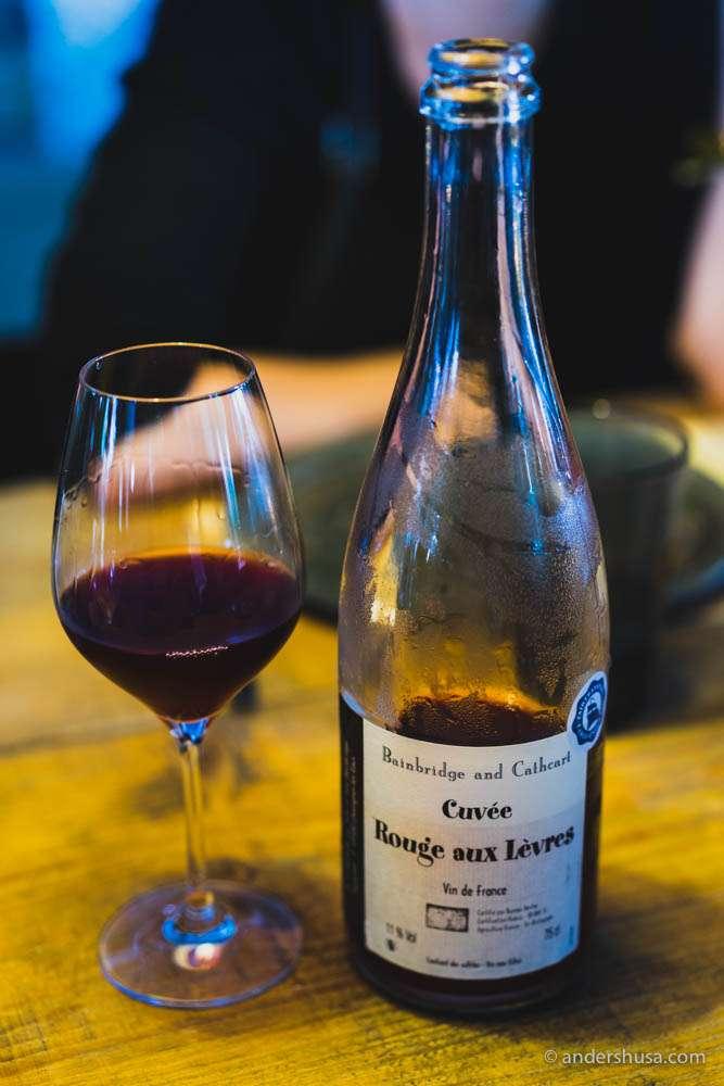 Bainbridge and Cathcart, Cuvée Rouge aux Lèvres, Vin de France
