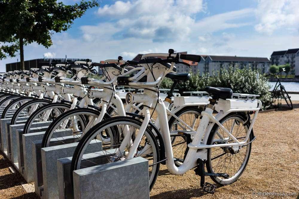 Copenhagen city bikes – Bycyklen