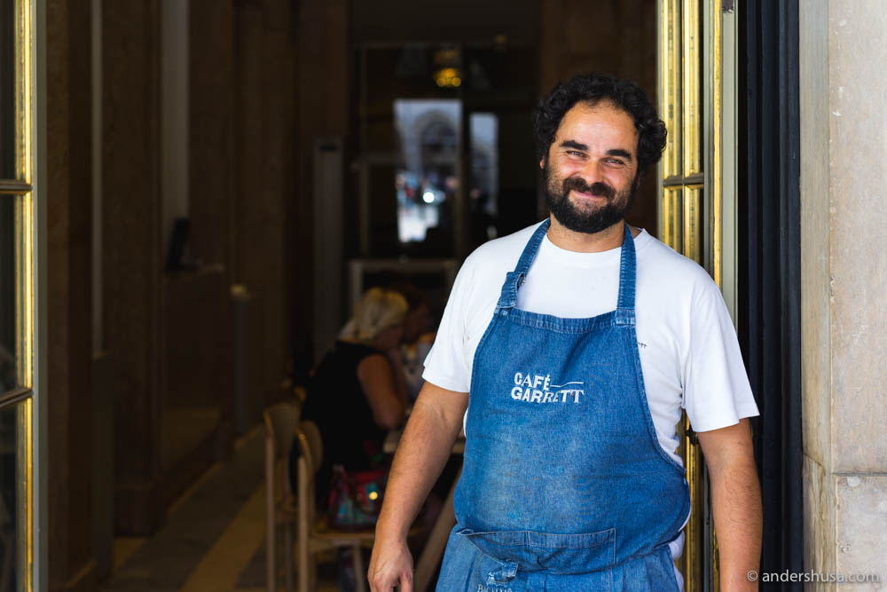Architect-turned chef Leopoldo Garcia Calhau