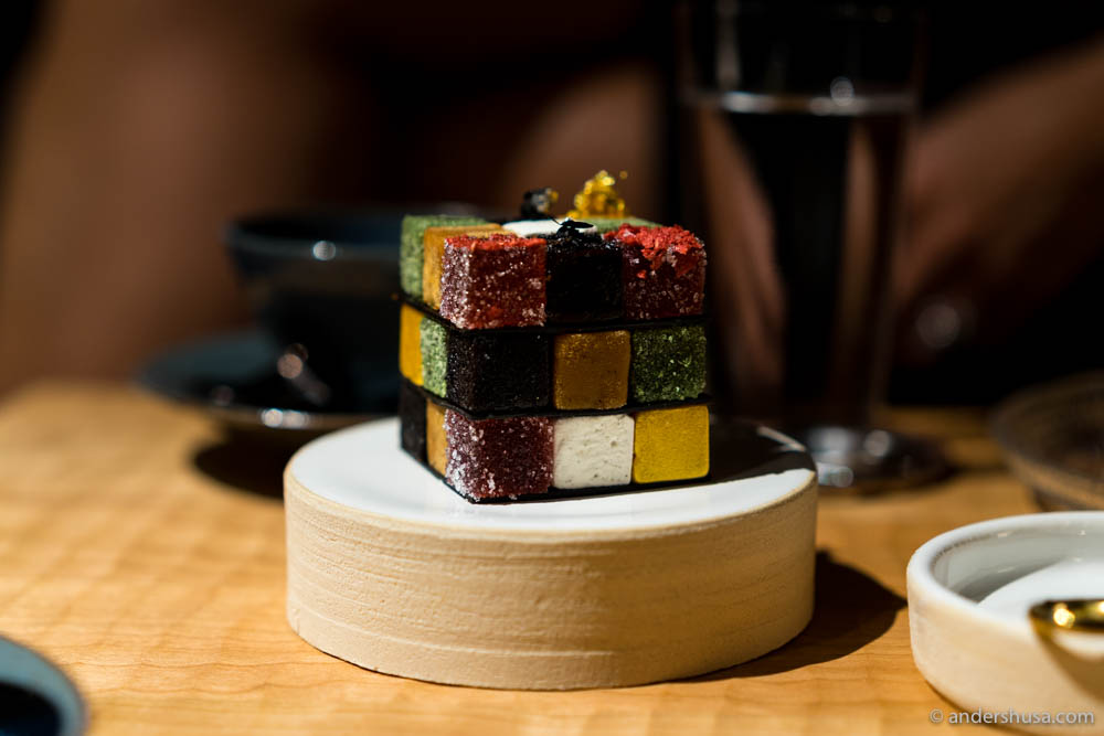 Is it easier to solve Rubik's Cube than to guess Michelin stars? Probably.