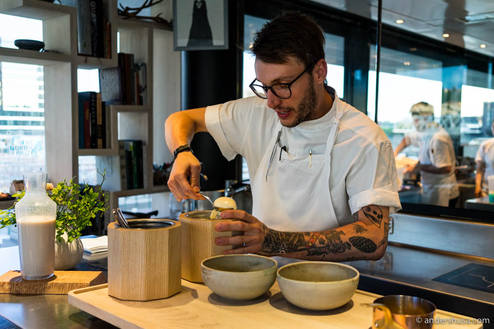 Head of R&D at Maaemo, Rob Jacob Drennan