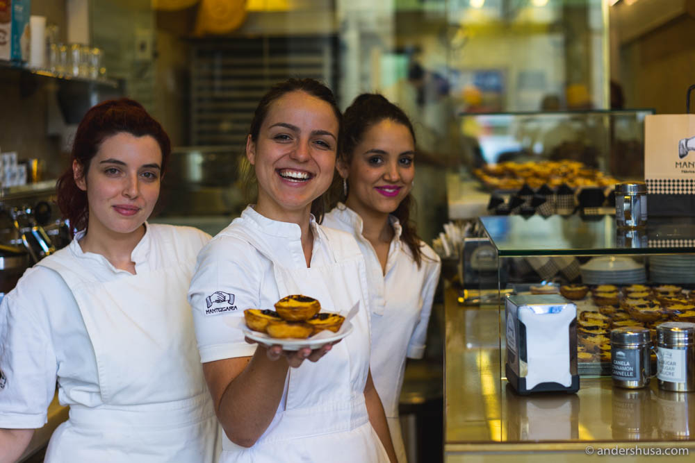These smiling and sweets-loving girls (they munched the cakes themselves) welcomed us inside