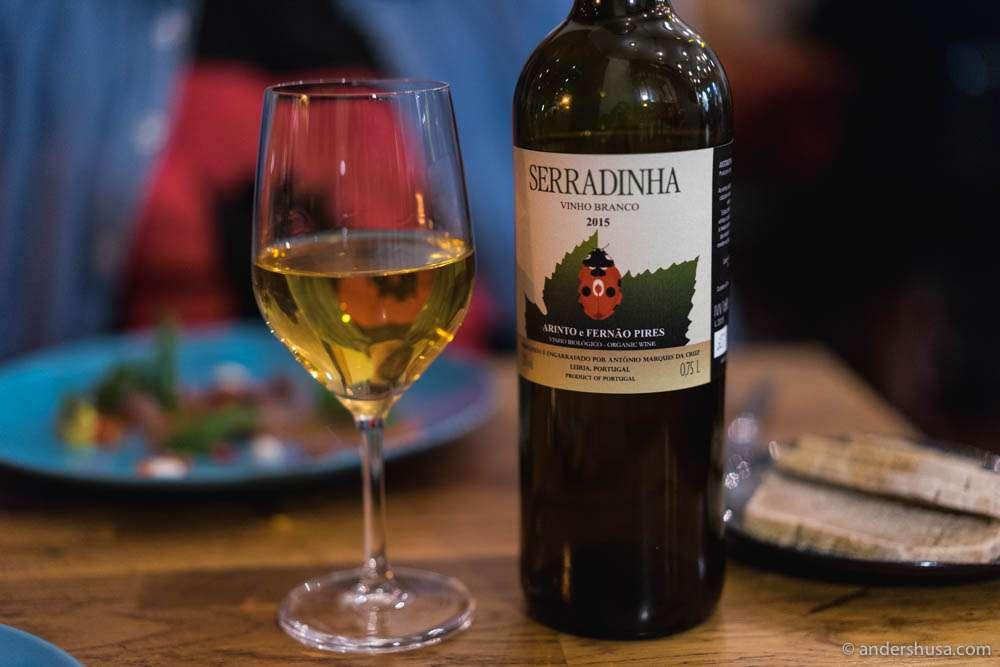 2015 Quinta da Serradinha Branco, Vinho Regional Lisboa, Portugal