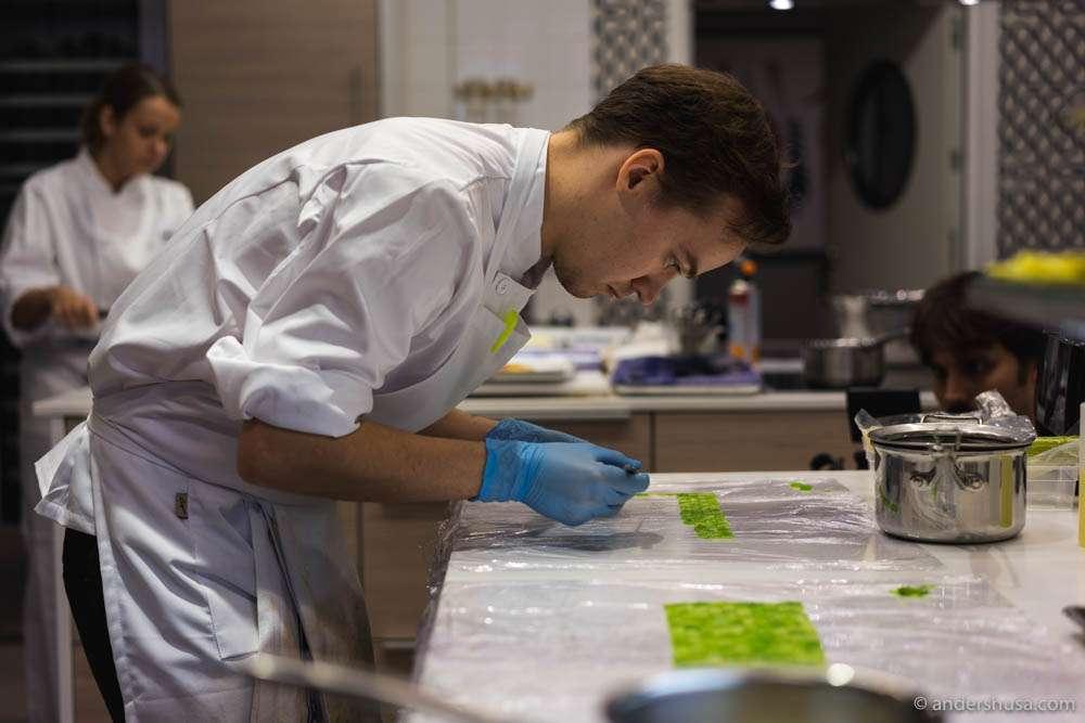 Swedish chef Anton Husa (23)
