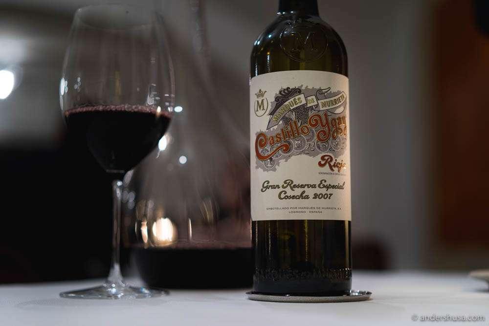 "2007 Rioja Gran Riserva Especial ""Castillo Ygay,"" Marqués de Murrieta, Rioja, Spain"