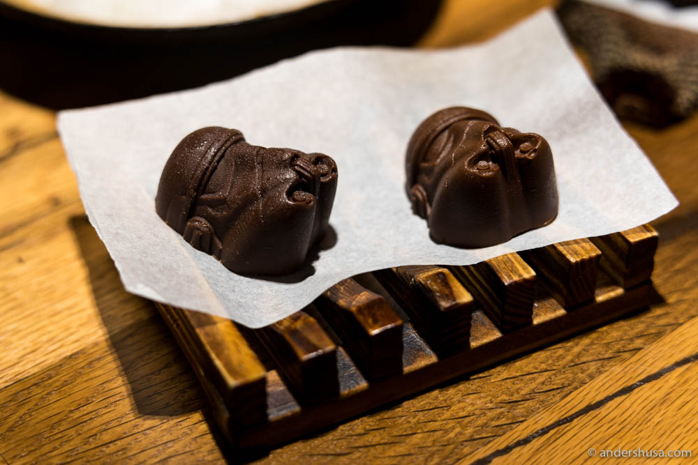 Stormtrooper chocolates