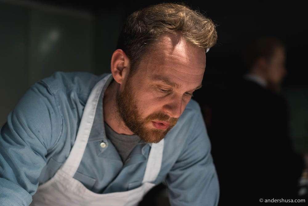 Chef Björn Frantzén of restaurant Frantzén