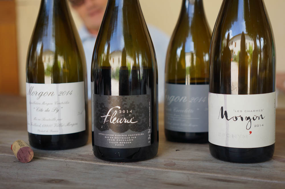 Some examples of great natural wines. Photo: Linn Johnsen