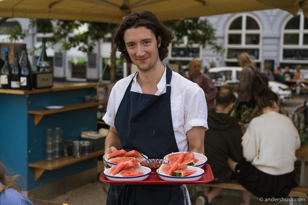Chef Dave Harrison previously worked at Au Passage in Paris.
