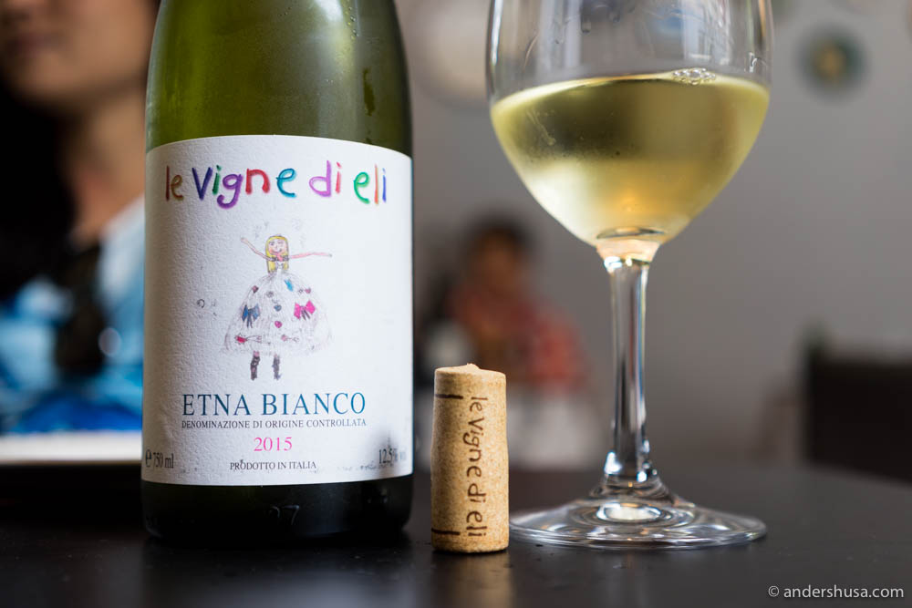 2015 Le Vigne di Eli, Etna Bianco