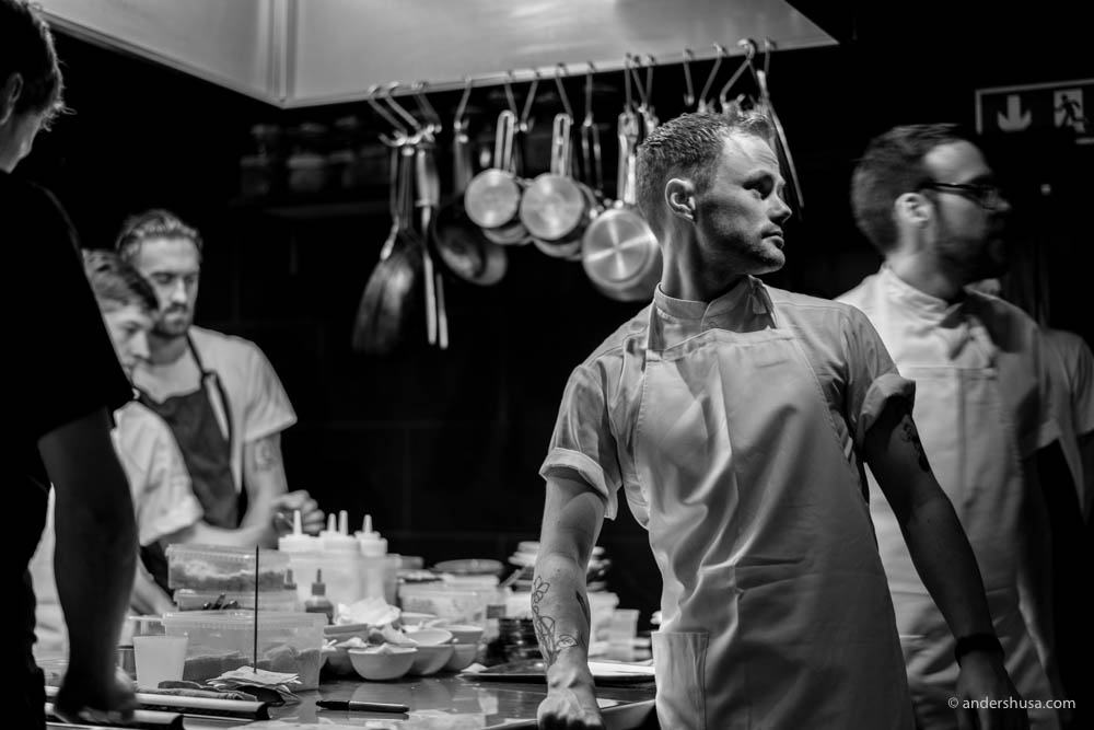Sous chef at Maaemo – Peder Støylen