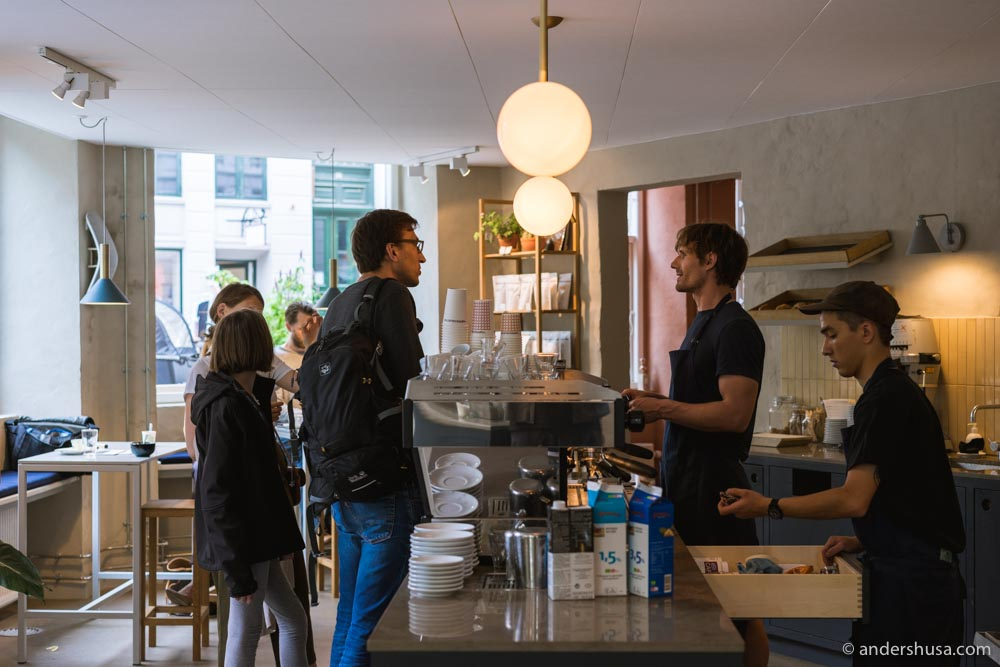The new Coffee Collective on Jægersborggade 57.