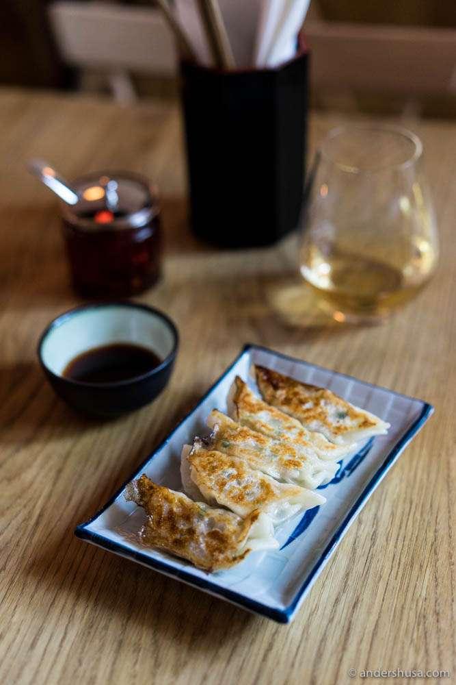 Gyoza at Jah Izakaya & Sake Bar