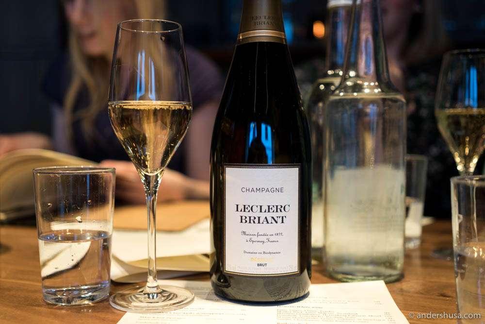 Champagne Leclerc Briant Brut