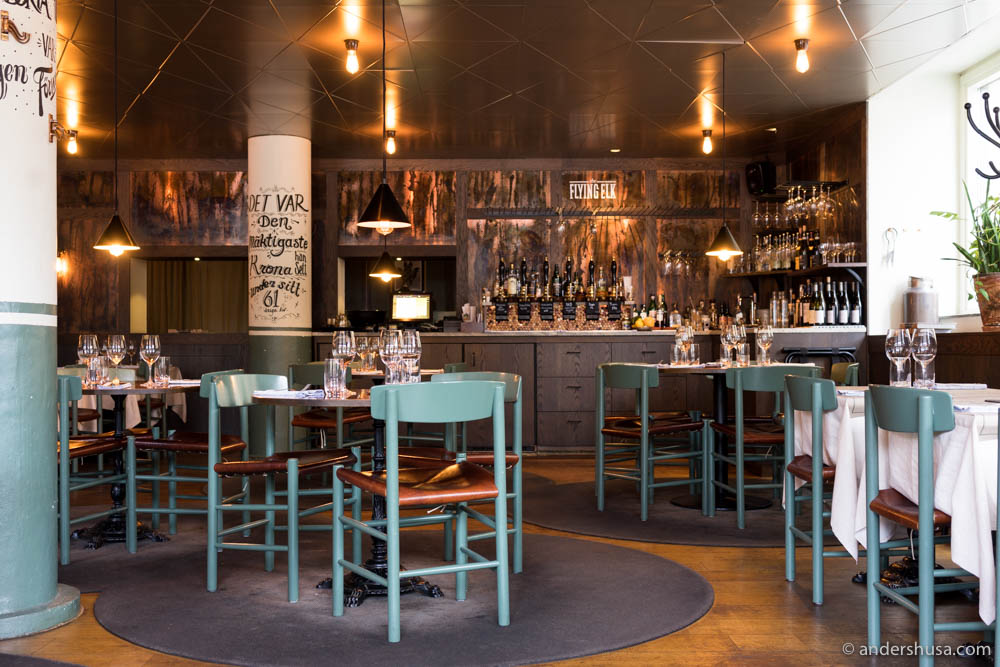 The Flying Elk gastropub in Stockholm