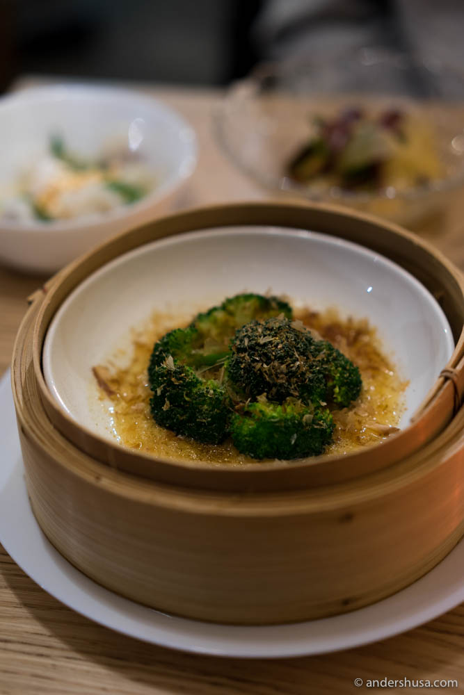 Broccoli, miso & browned butter