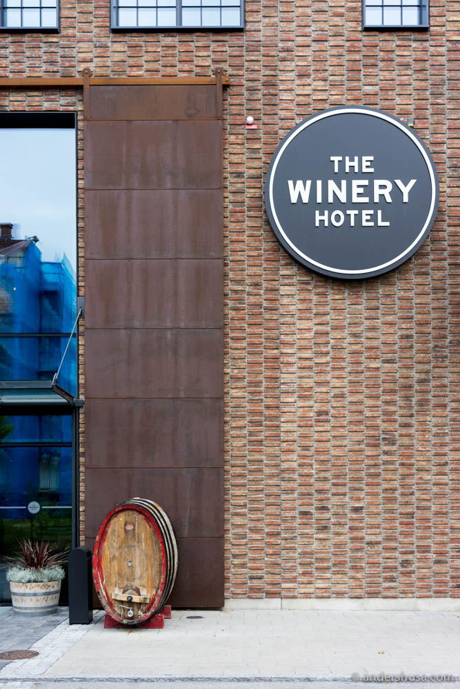 The Winery Hotel outside Stockholm