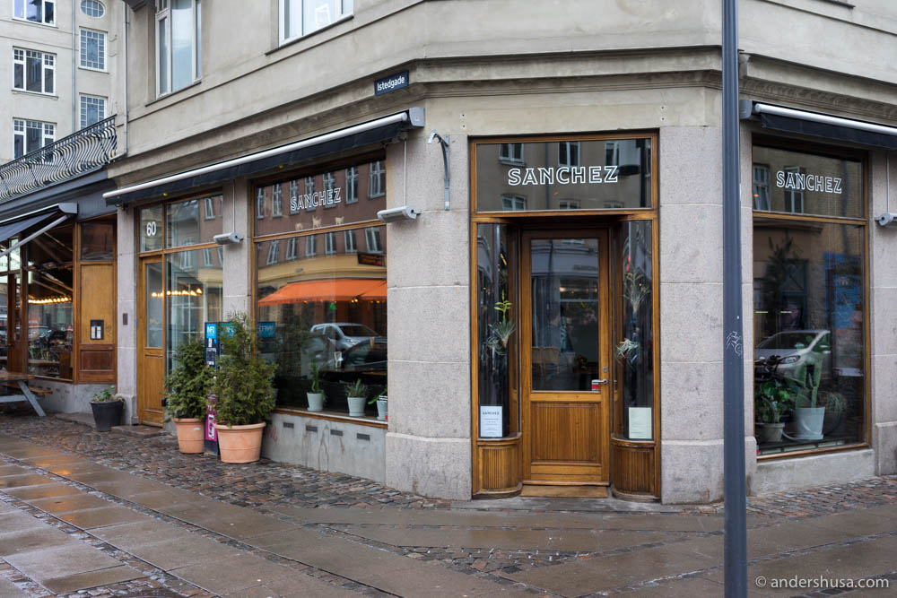 Restaurant Sanchez on Istedgade 60