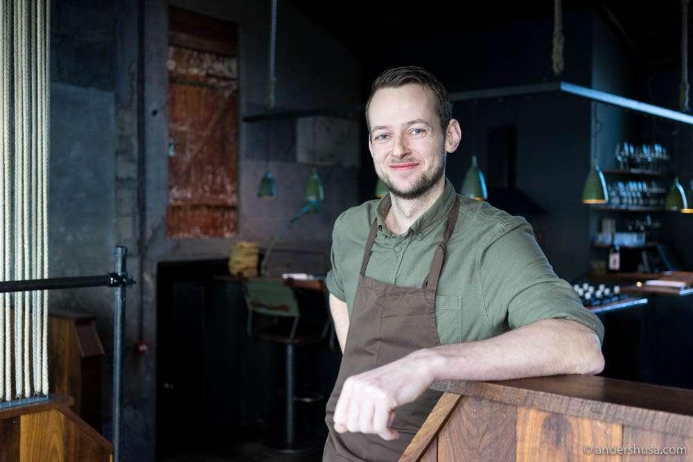 Head chef at Dill – Kári Þorsteinsson