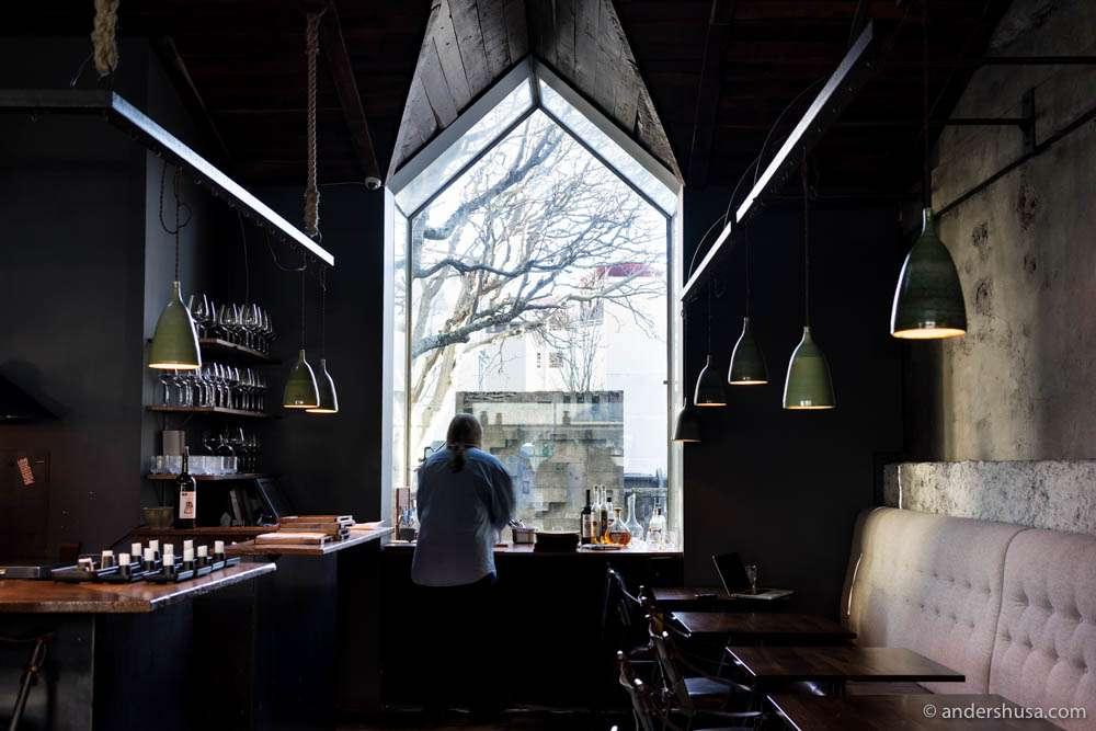 The stunning interior of restaurant Dill