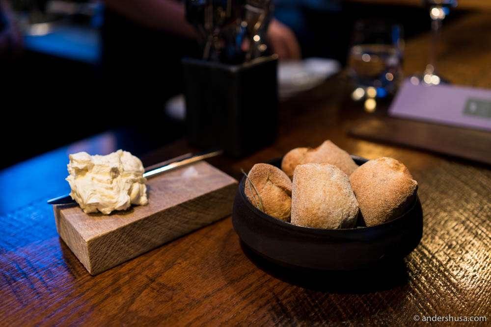 Bread and butter à la Dill