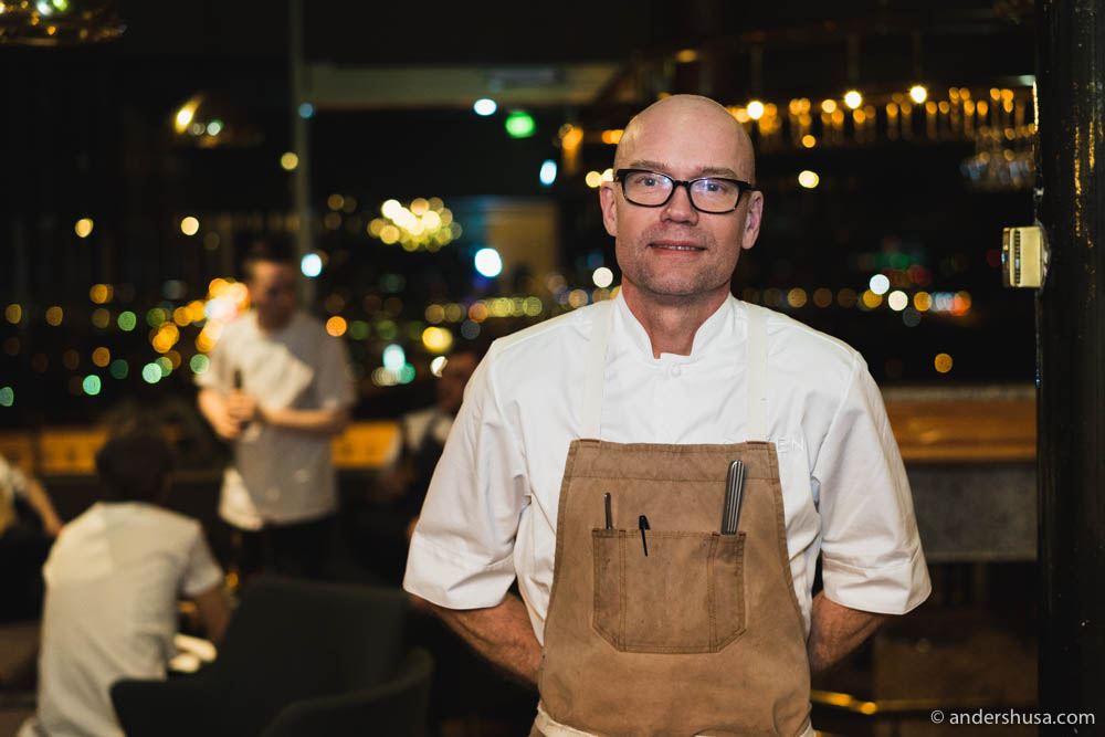 Chef Magnus Ek from Oaxen Krog & Slip in Stockholm
