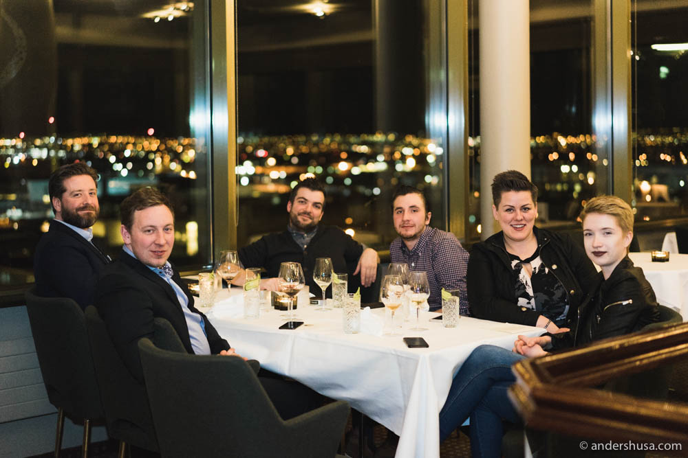 Dining with the guys from Mat Bar and Skál