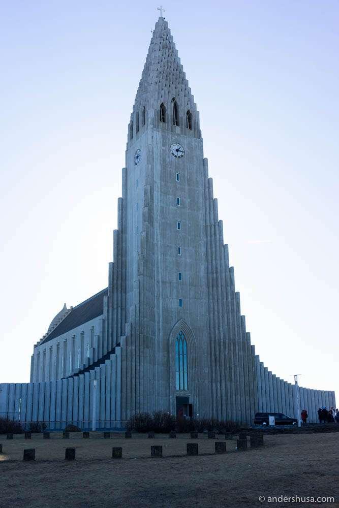 Hallgrímskirkja – the famous Icelandic church designed by architect Guðjón Samúelsson
