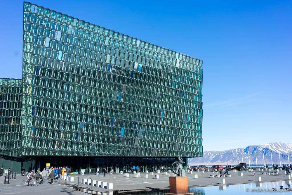 Harpa Concert Hall in Reykjavík