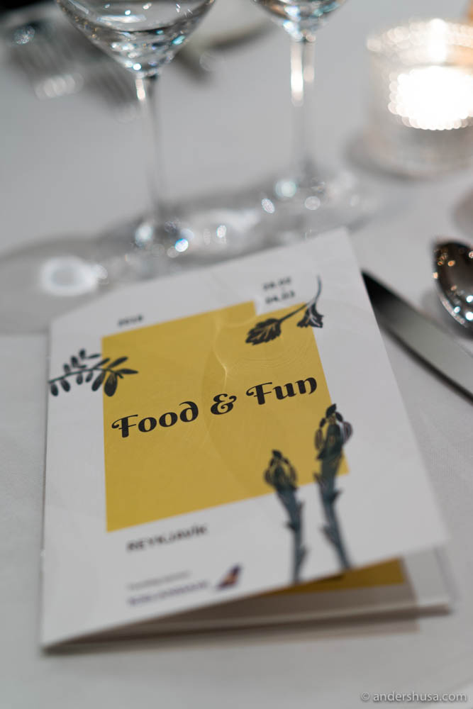 The Food & Fun festival is arranged every year in Reykjavík by chef Siggi Hall