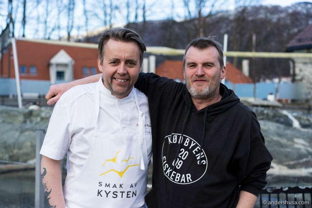 Sven Erik Renaa and the gourmet diver from Scotland – Roddie Sloan
