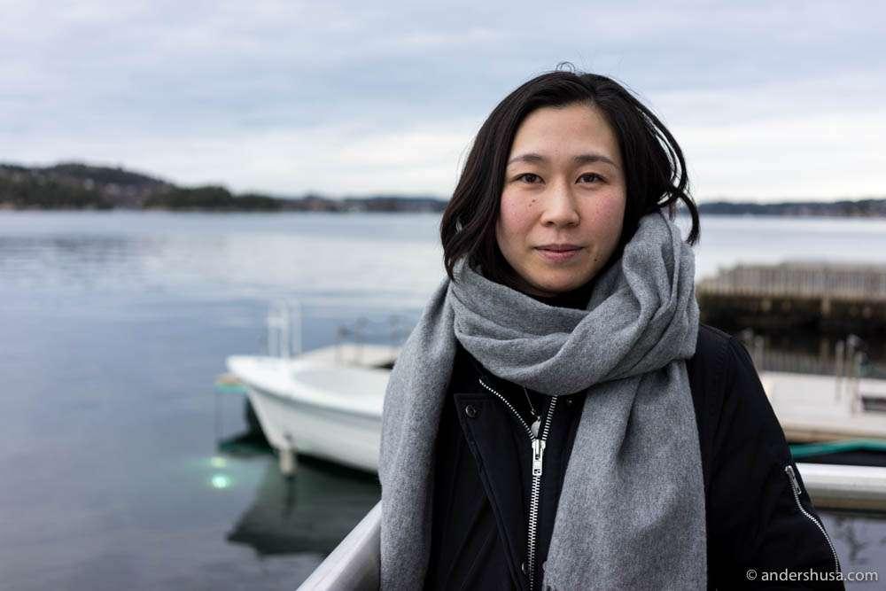 Saori Ichihara of restaurant Ichi in Stockholm