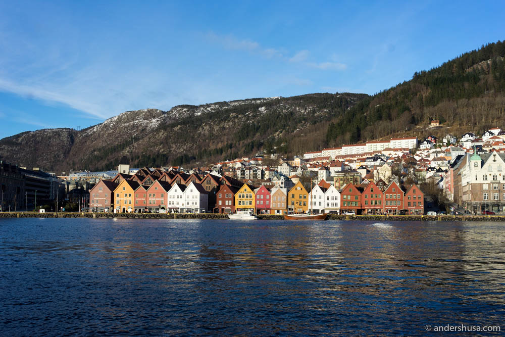 The city of Bergen in all its glory