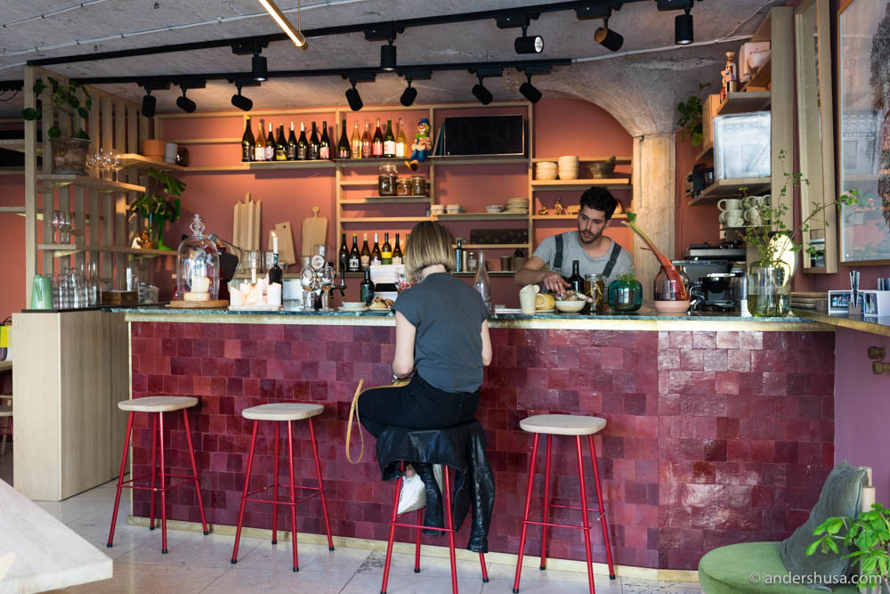 Pedro's tiny wine bar is tiny