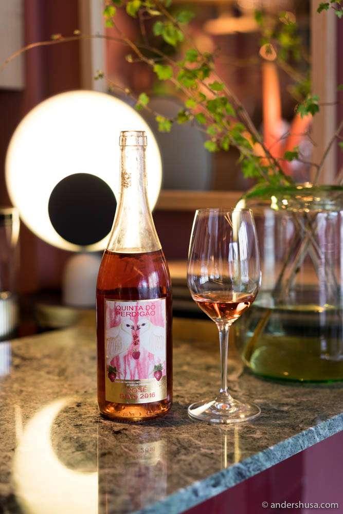 Quinta do Perdigão, Sparkling Rosé