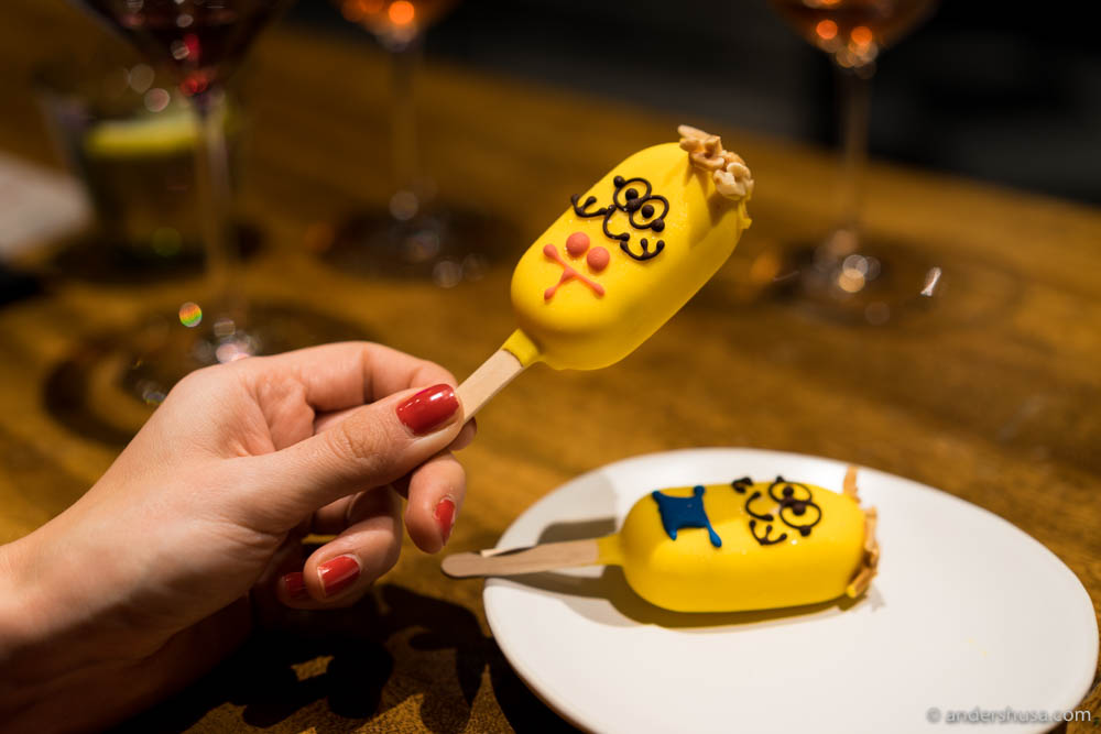 The minions represent Gaggan's madness well