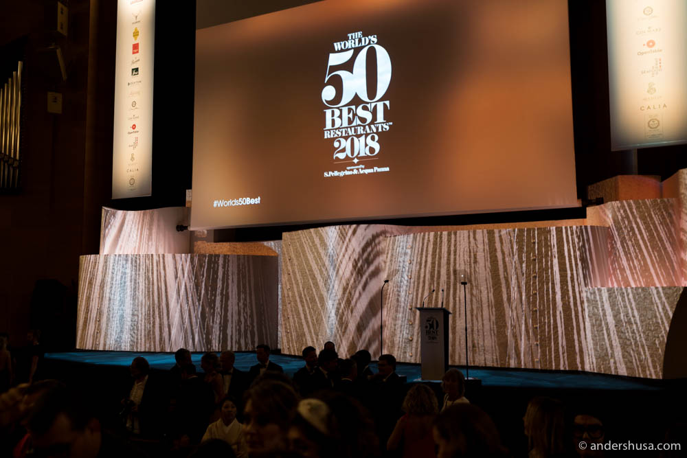 The World's 50 Best Awards took place in Bilbao, Spain